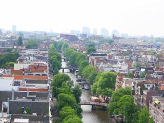 Imagen de Westerkerk cerca de Ámsterdam. netherlands amsterdam holanda westerkerk canales paisesbajos