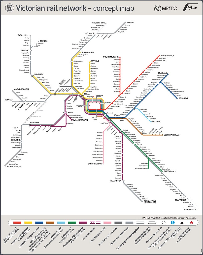 PTV rail map concept design, October 2014 (cropped)