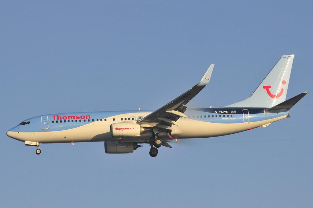 G-TAWK - B738 - TUI Airways