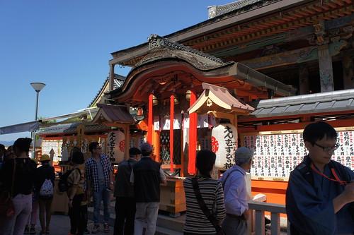 京都 地主神社 本殿