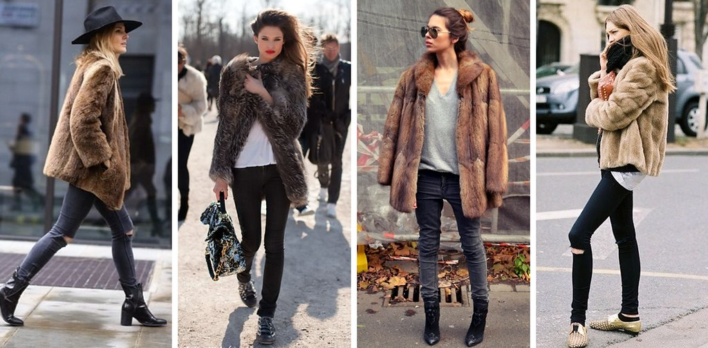faux fur collage 0