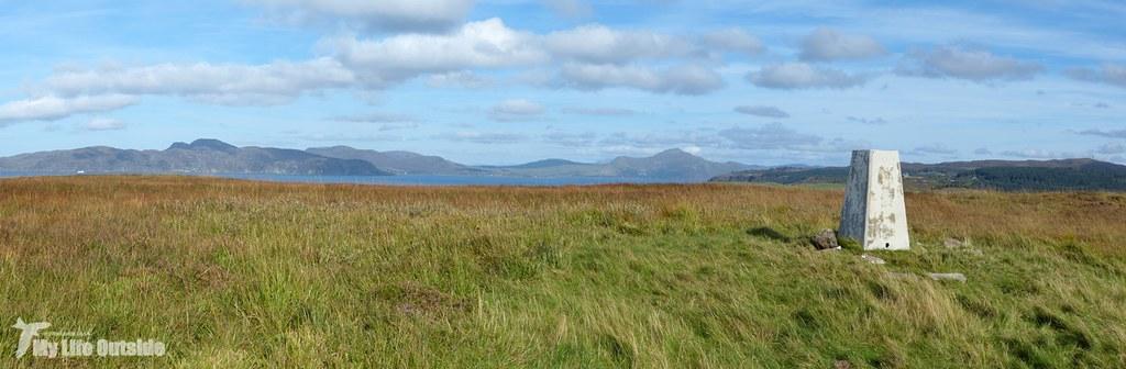 Panorama 6 - Wuinish Trig Point, Isle of Mull