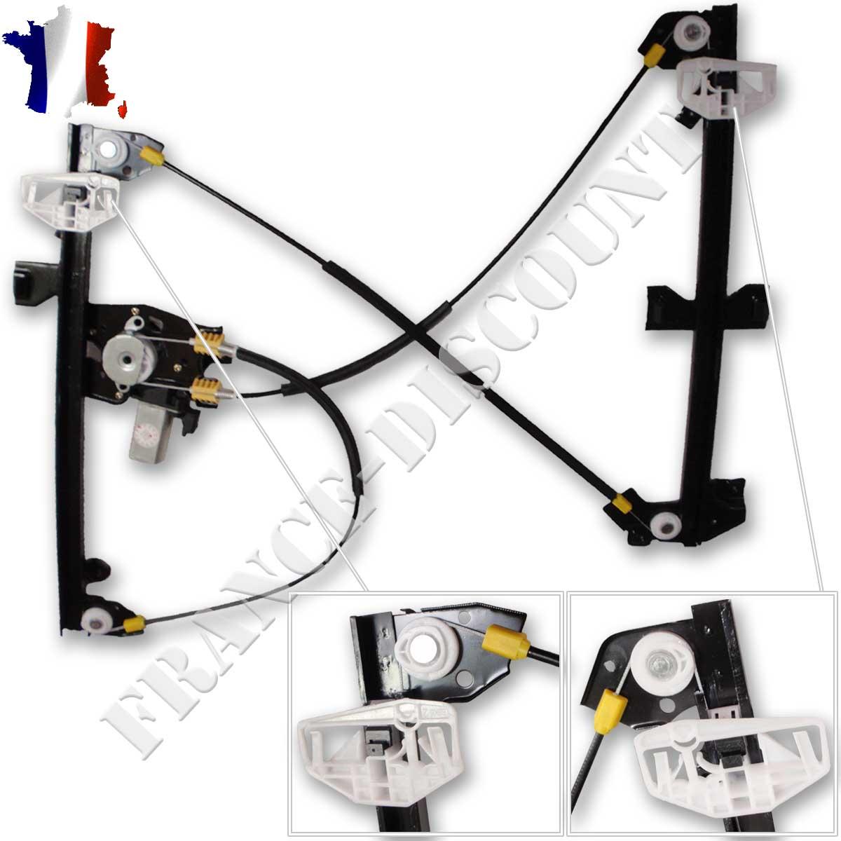 mecanisme leve vitre electrique avant droit neuf peugeot partner avec moteur ebay. Black Bedroom Furniture Sets. Home Design Ideas