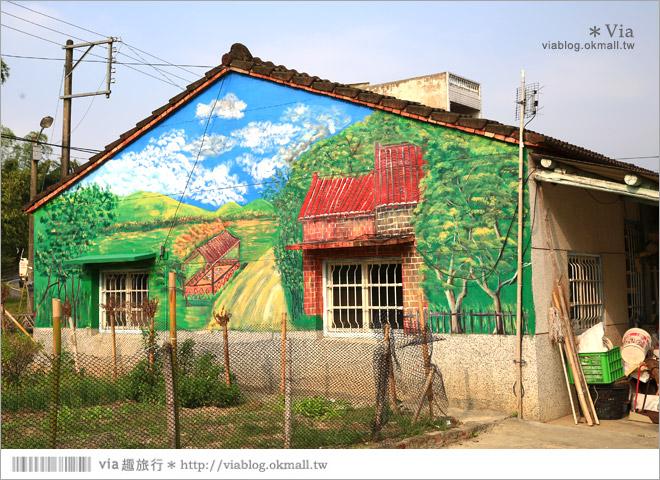 【關廟彩繪村】新光里彩繪村~在北寮老街裡散步‧遇見全台最藝術風味的彩繪村52