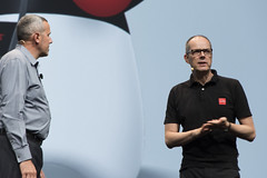 Hans Kamutski and Peter Utzschneider, JavaOne Strategy Keynote, JavaOne 2014 San Francisco