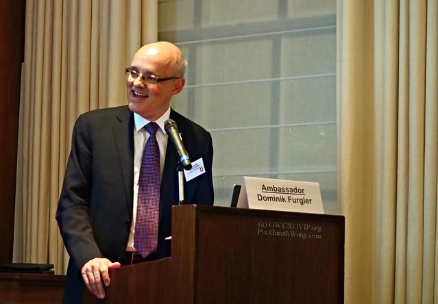 Smiling HE Ambassador Dominik Furgler, Embassy of Switzerland from RAW _DSC5802 @SwissEmbassyUK