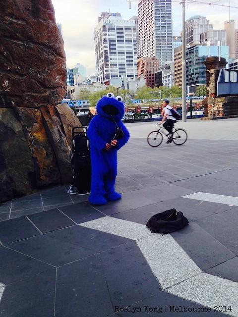 Street Performer, Melbourne