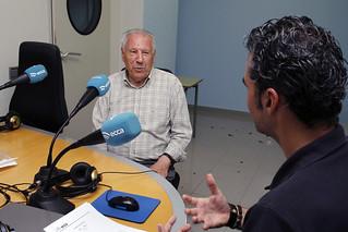 José Iglesias Fernández en Radio ECCA