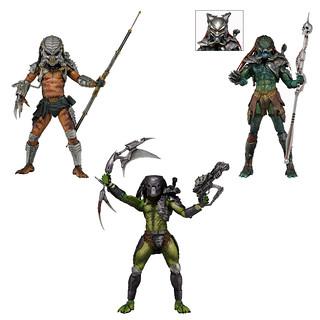 NECA 第十三彈【終極戰士】Predator 7 吋人偶作品 終極戰士大比拚