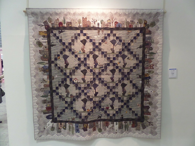 With Billy Quilt by Miwa Kawai
