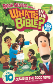 The DVD cover for What's in the Bible volume 10