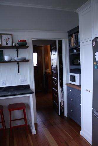 Kitchen, Northwest Corner