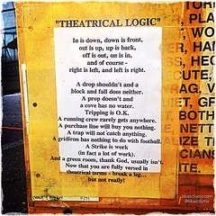 """Theatrical Logic"""