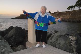 ¡feliz cumpleaños! Theresa Irene Wolowski from Old San Juan, Puerto Rico