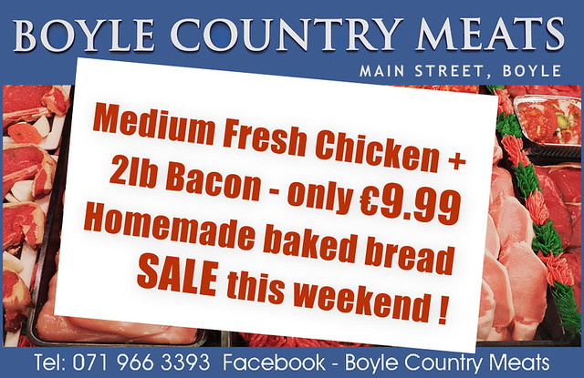 Boyle Country Meats - Weekend Offer