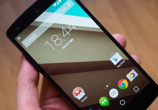Android 5.0 для Nexus 7 и 10