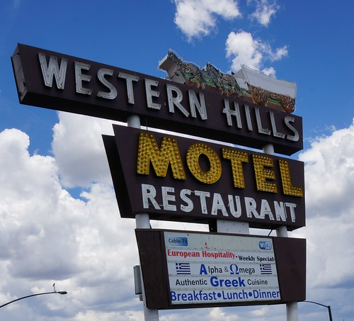 Western Hills Motel & Restaurant, Route 66, Flagstaff, Arizona