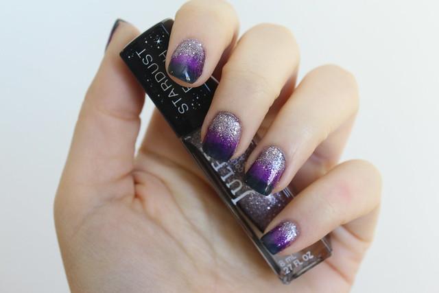 Gradient Glitter Nails | Julep Manicure | #LivingAfterMidnite