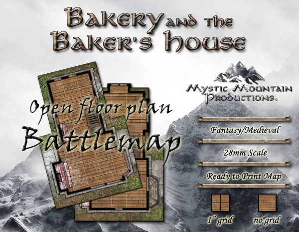 Battlemap - Bakery