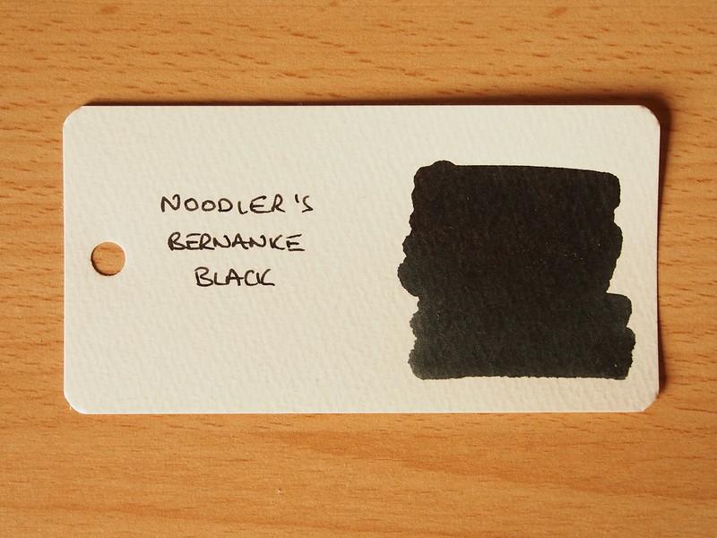 Noodler's Bernanke Black
