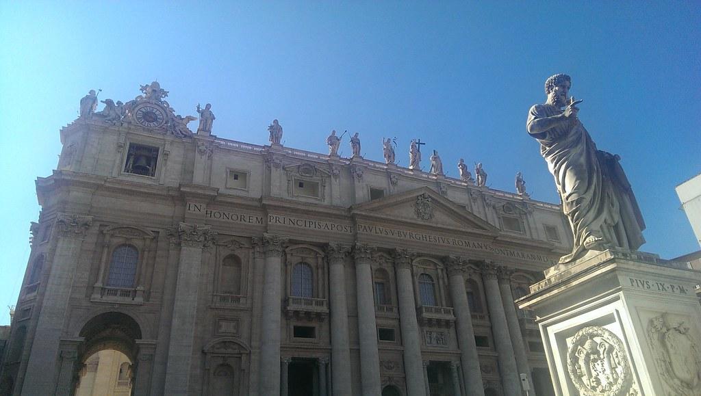 Rome - Vaticaan - Sint Pietersplein