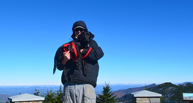 highest puppy on the eastern seaboard (6692 ft.)