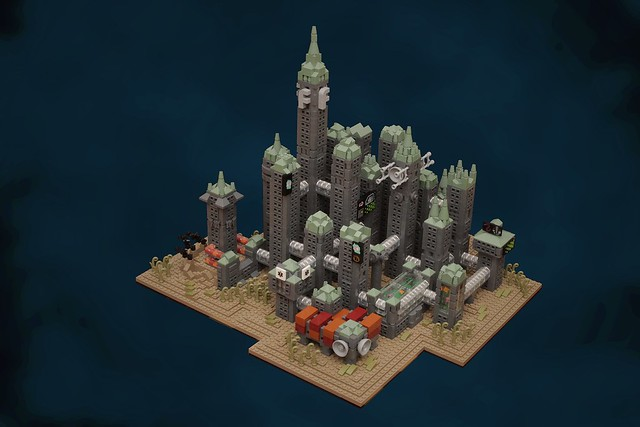 bioshocks rapture in microscale the brothers brick