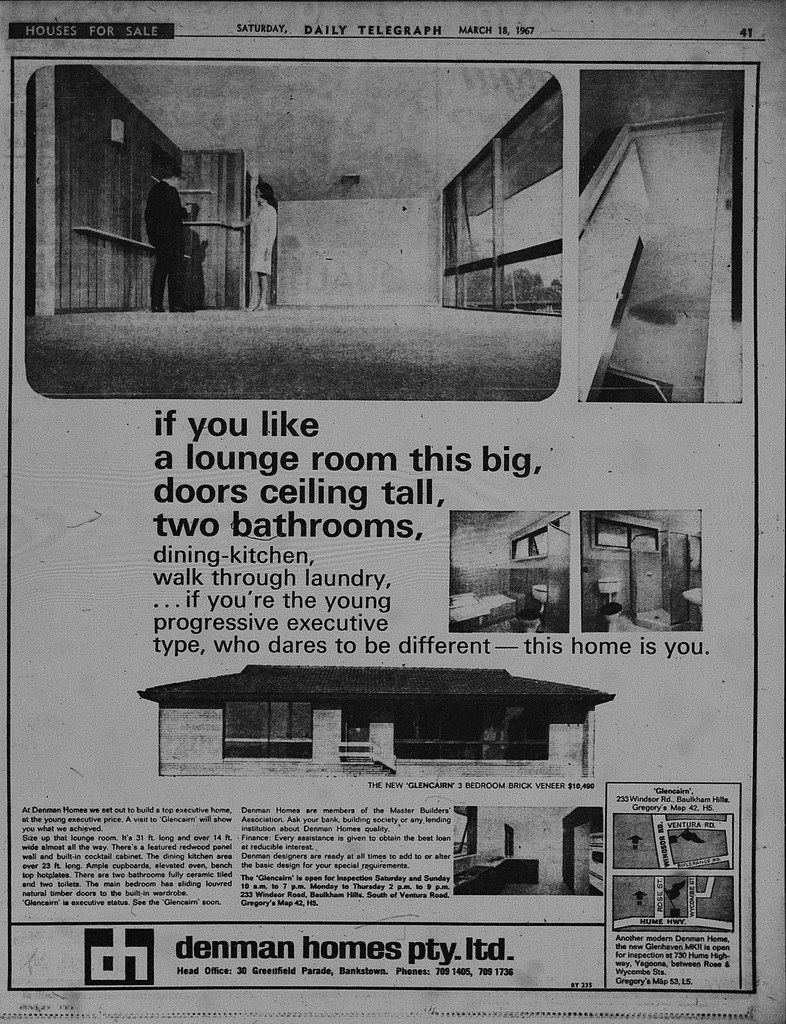 Denham Homes Ad March 1967 Daily Telegraph (11)