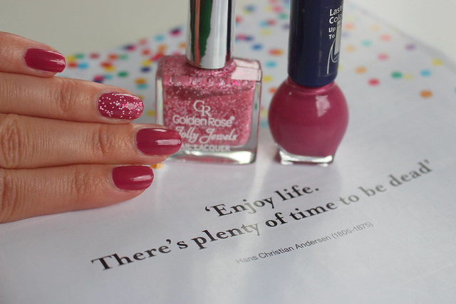 NOTD Nails Party Confetti ByDagmarValerie