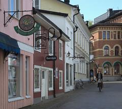 Sjötullsgatan i augusti 2014 (Norrtälje)