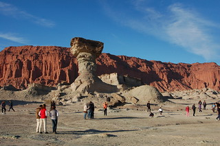 Views from Valle de la Luna, or Parque Provincial Ischigualasto, San Juan, Argentina