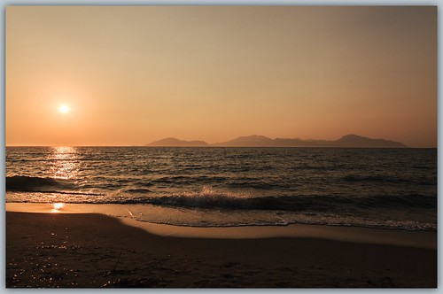 sunset beach strand canon zonsondergang kos places griekenland 24105mm 5dmii
