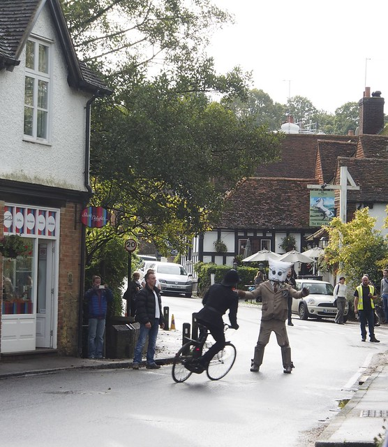 Filming Professor Branestawm, Shere, Surrey, England, Travel