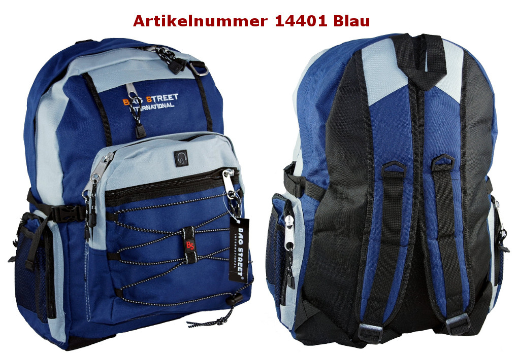 Rucksack 14401 Blau
