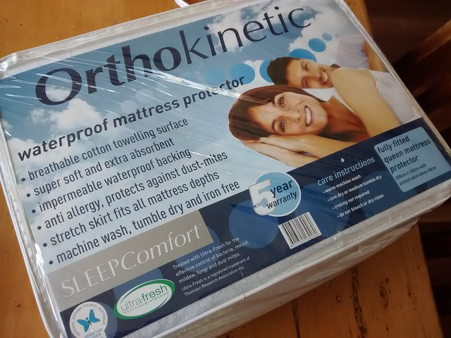 New mattress protector from amart