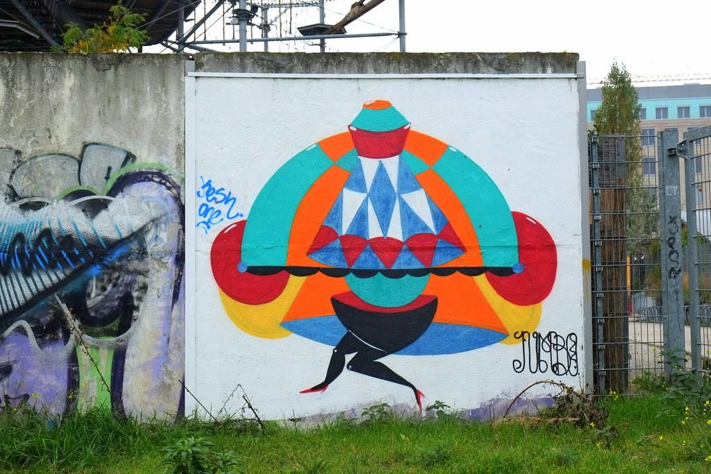 streetart   berlin . nordbahnhof