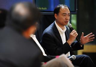 馬軍受邀2008柯林頓基金會香港會議。圖片由IPE提供