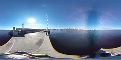360 degree lighthouse view at Zea Marina of Piraeus including The Maltese Falcon | #TBEX