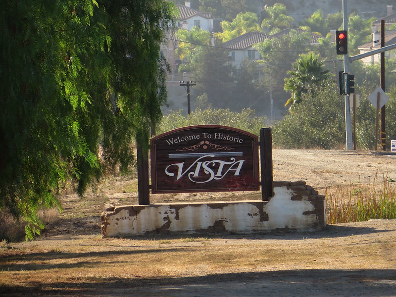 Welcome to Vista, California