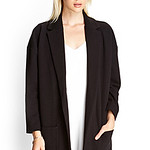 Forever21 Quilted Casual Knit Blazer