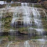 Close up of Shequaga Falls