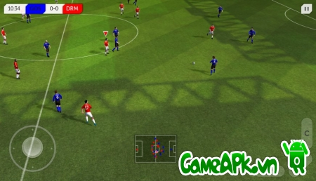 Dream League Soccer v2.07 hack free shopping cho Android