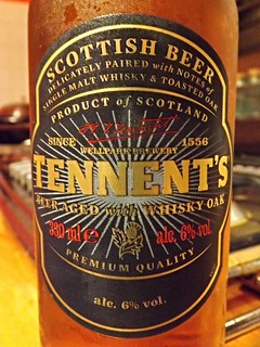 Wellpark (C&C Group), Tennent's Beer Aged with Whisky Oak, Scotland