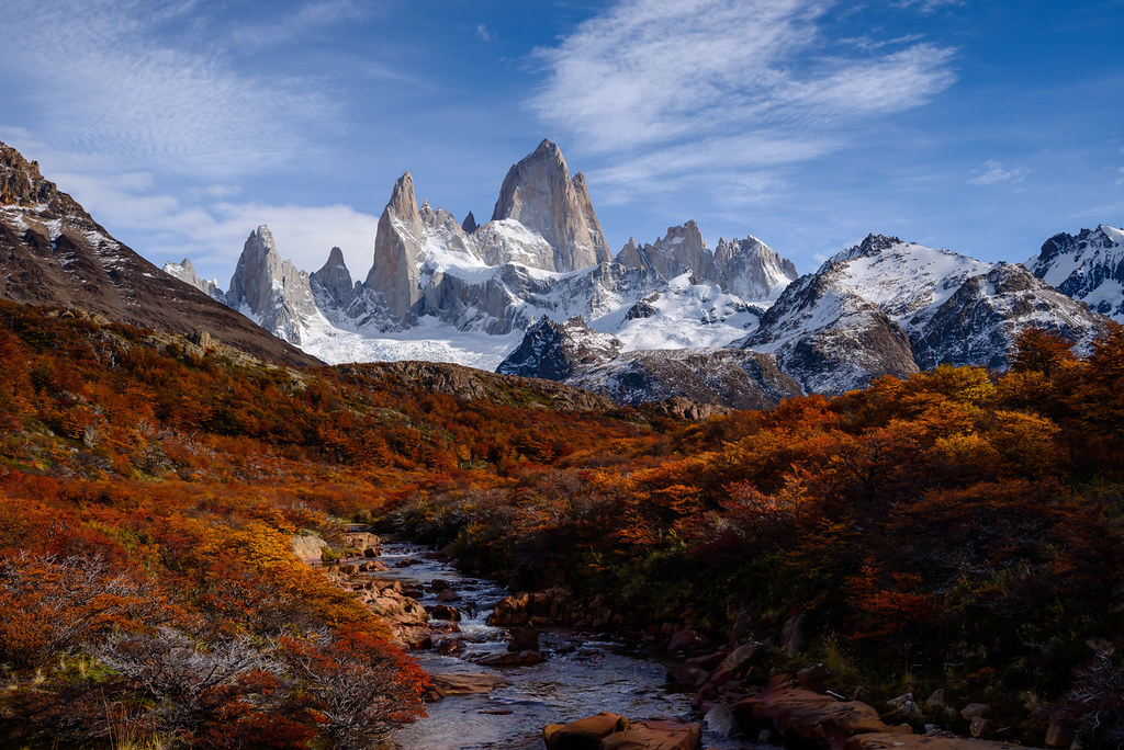 Fall Colors in Patagonia