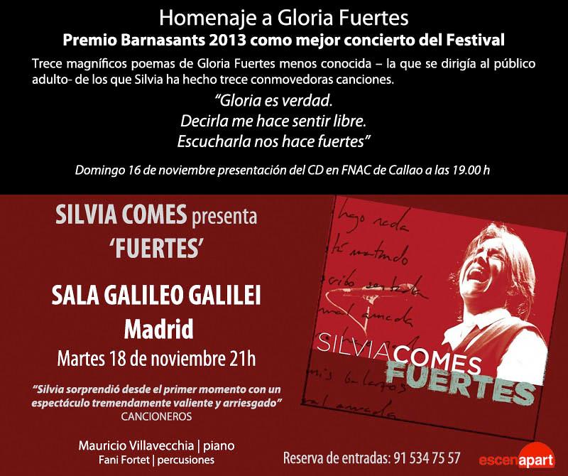 Presentacion CD Fuertes Silvia Comes