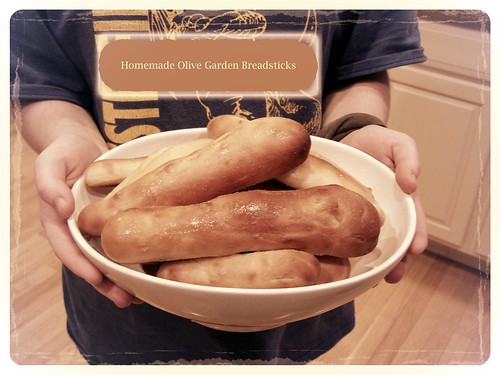 ~ homemade olive garden breadsticks...