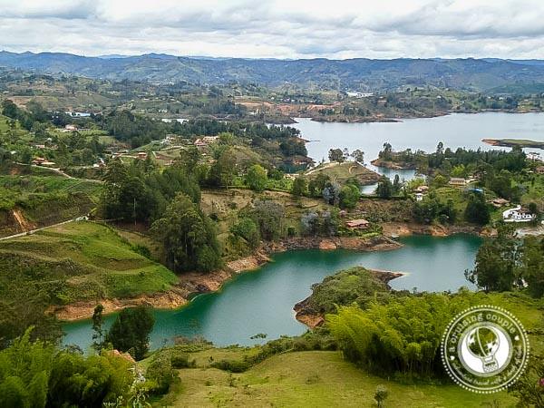View From El Penol de Guatape