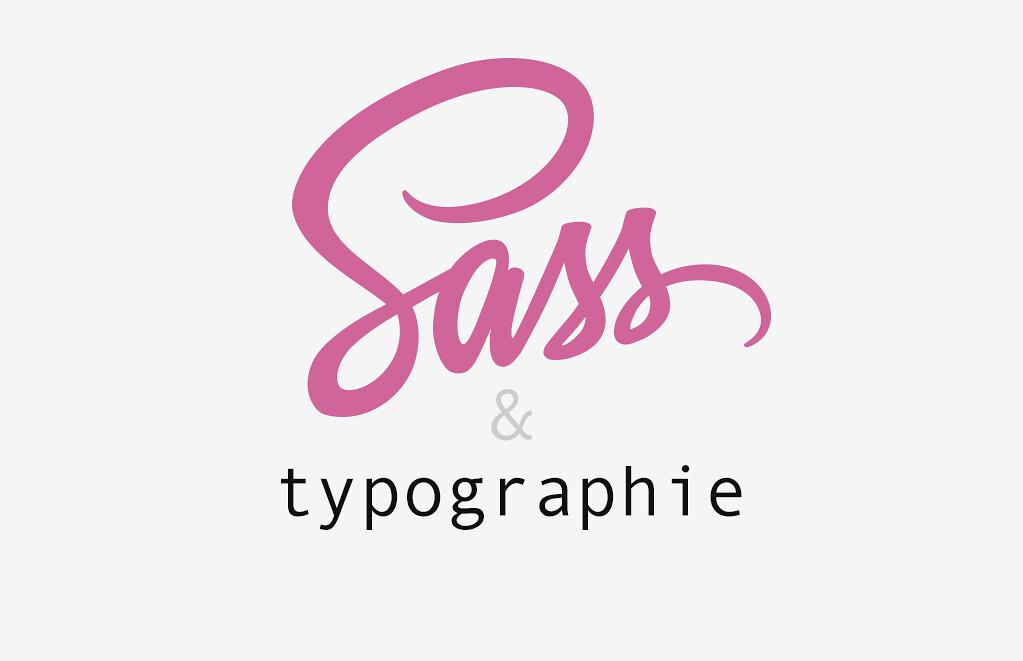Logo sass et typographie
