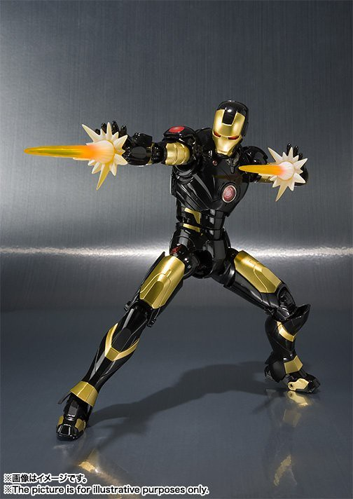 S.H.Figuarts 鋼鐵人馬克3 MARVEL AGE OF HEROES EXHIBITION 開催記念配色!