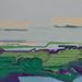 Landscape A3, 2017. Oil on wood, size: 40x60cm by Albert Zwaan, paintings http://www.albertzwaan.nl/